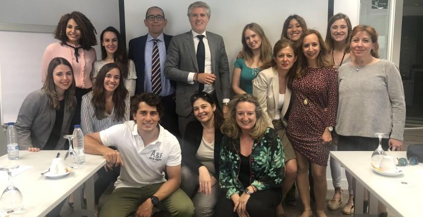 Sesión de Trabajo dirigida por Ángel López