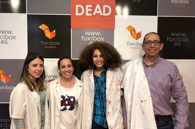 Actividad de Team Building: escapando del laboratorio zombie