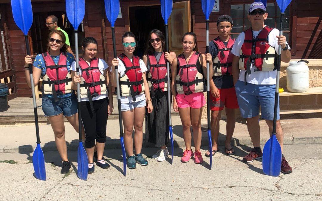 Actividad de Team Building para nuestro reto semestral: travesía por el Río Duratón