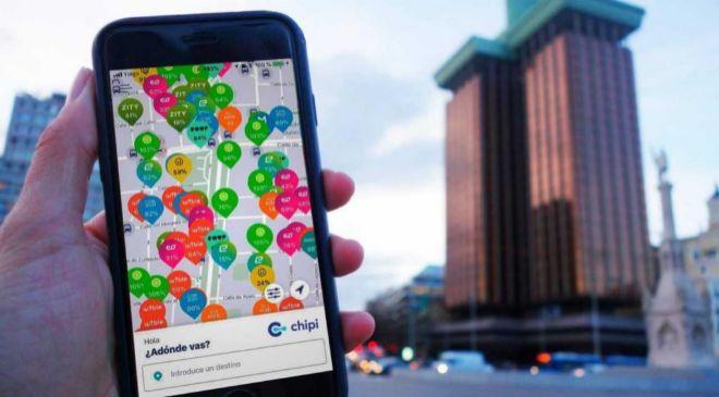 Chipi la nueva aplicación de movilidad urbana