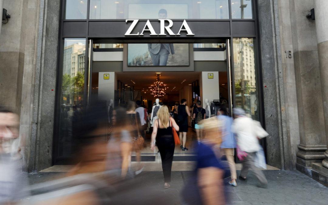 Inditex sigue creciendo: mejora un 3% sus ventas