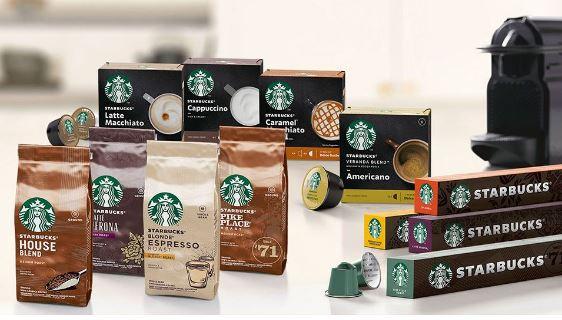 Nestlé lanzará en marzo una línea de productos de café Starbucks