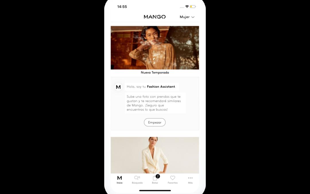 """""""Fashion Assistant"""", la nueva función de la App de Mango"""