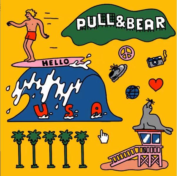 Pull & Bear comienza a vender ropa a través de su tienda online en Estados Unidos