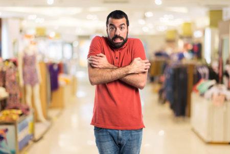La influencia del frío sobre las decisiones de compra