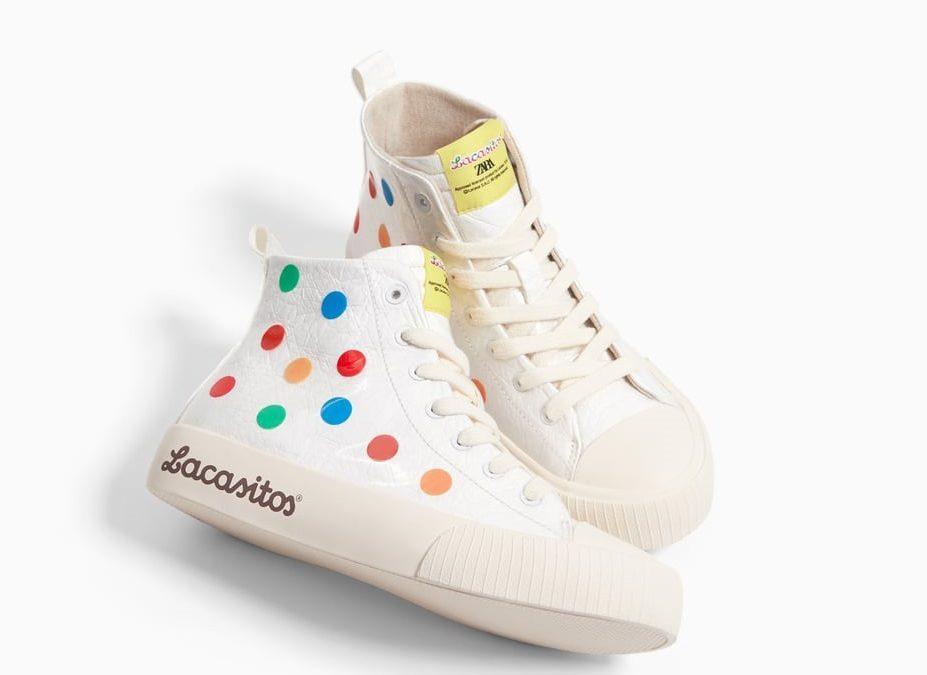 Ya tenemos zapatillas de Lacasitos by Zara