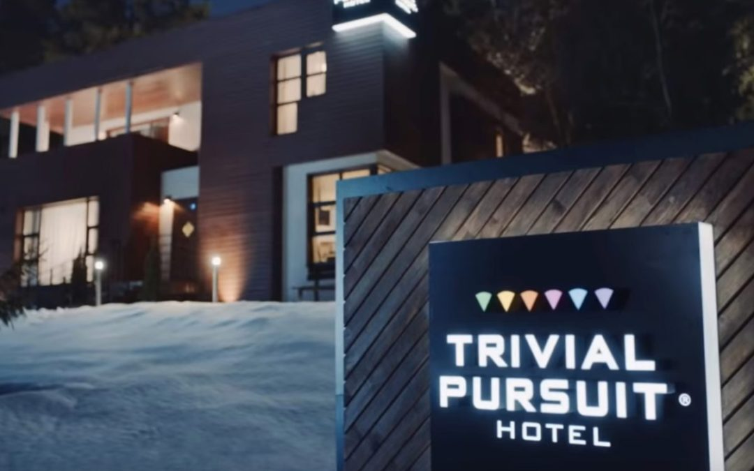 Trivial Pursuit Hotel: donde el pago y el alojamiento depende de tus aciertos jugando al Trivial