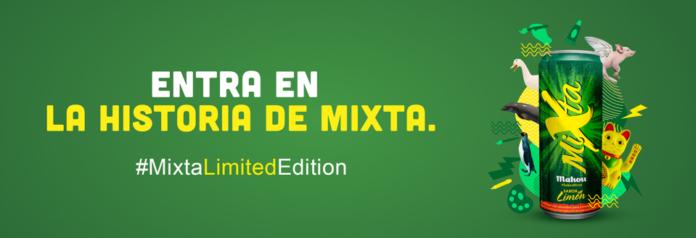 Mixta busca la co-creación con los consumidores para el diseño de su nueva lata