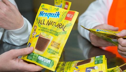 Nesquik apuesta por un desarrollo sostenible con su nueva variedad y envoltorio
