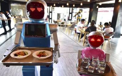 Los robots llegan a los restaurantes para sustituir a los camareros