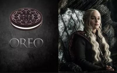 La nueva estrategia de Oreo:  lanzar una línea de galletas inspirada en 'Juego de Tronos'