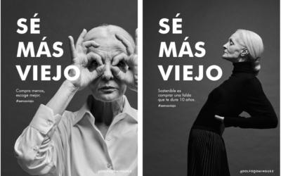 """""""Sé más viejo"""" de Adolfo Domínguez: la gran triunfadora en los Premios Nacionales de la Creatividad"""