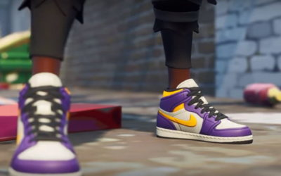 Nike vende zapatillas virtuales a través de Fortnite