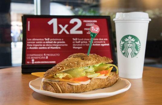 Starbucks lanza una iniciativa solidaria contra el desperdicio alimentario