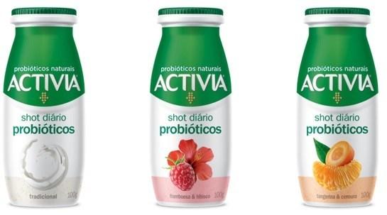 `Activia Shot´ el nuevo yogur con probióticos