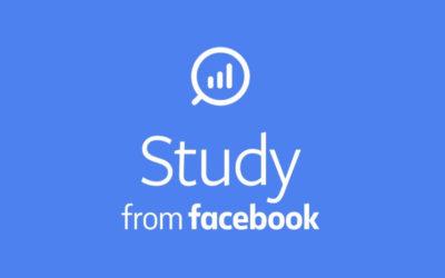 Study, la aplicación de Facebook que te paga por espiar tu móvil