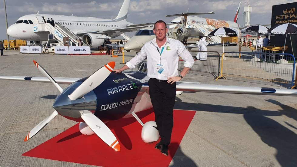 """El """"Rayo Blanco"""", la primera aeronave eléctrica del mundo"""